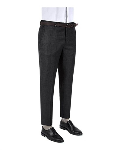 Tween Slim Fit Kumaş Pantolon Gri